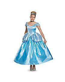 Adult Cinderella Costume Deluxe - Disney