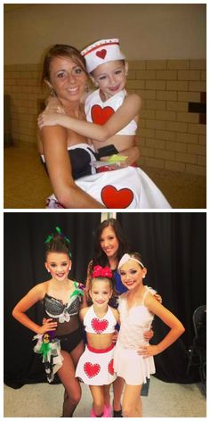 I was looking at Christi's twitter and saw that old picture of Chloe and though it looked really similar to Mackenzie's nationals costume. I think its the same thing, Mack just had hers rhinestoned. I think its kinda cute :)