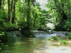 a creek in Marilog, Davao City