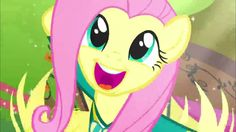 My Little Pony  The Pony Tones  Fluttershy Normal Voice