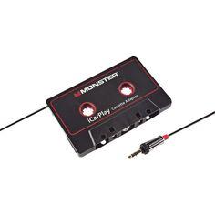 MONSTER 133218 iCarPlay(R) Cassette Adapter 800