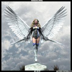 angel art  | warrior angel by burn86 digital art 3 dimensional art characters ...