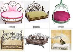 Luxury Metal Pet Dog Beds,Wrought Iron Canopy Pet Bed,Dog Beds ...