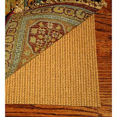 @Overstock - Prevent needless accidents by using this high-density non-skid rug pad to keep your rug firmly in place. This rubber pad is perfect for a variety of hard flooring because it will not scratch surfaces. It will fit most large area rugs and is trimmable.http://www.overstock.com/Home-Garden/Grid-Non-slip-Rug-Pad-5-x-8/3962813/product.html?CID=214117 $21.63