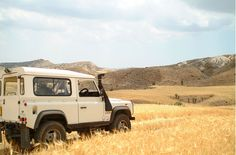 Land Rover Defender 90 going where it was built to go!