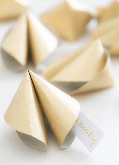 DIY Paper Fortune Cookies - Sugar and Charm - sweet recipes - entertaining tips - lifestyle inspiration