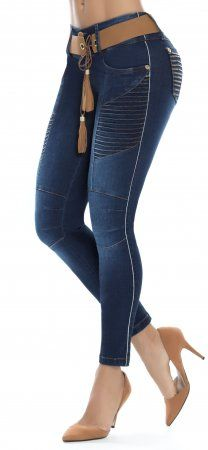 7fbd69feb Jeans levanta cola LUJURIA 78783 Azul Plus Size Boots, Plus Size Jeans, Jeans  Pants