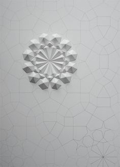 Paper sculptures from Matt Shlian.