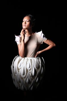 melinda looi + materialise: asia's first 3D printed fashion show