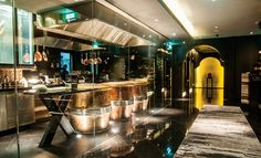 Open Kitchen Design with Tandoor Ovens at Maya Indian Restaurant Bangkok, Sukhumvit 22, Holiday Inn