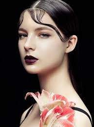 Image result for floral beauty editorial