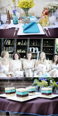 Perfect Chemistry Theme Bridal Shower by Alders Photography | Style Me Pretty