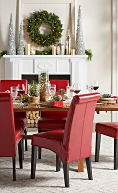 Put more merry in your mingle with festive furniture to match the mood!