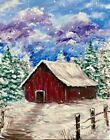 Find the perfect thing to do tonight by joining us for a Paint Nite in Arnold, MD, featuring fresh paintings to be enjoyed over even fresher cocktails! Easy Paintings, Landscape Paintings, Watercolor Paintings, Winter Painting, Winter Art, Christmas Paintings, Christmas Art, Xmas, Wow Art