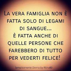 La vera famiglia non è fatta solo di legami di sangue… è fatta anche di quelle persone che farebbero di tutto per vederti felice!