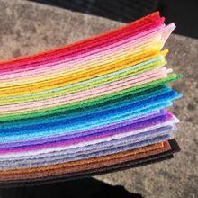 43 colors polyester acrylic nonwoven Fabric,needlework,diy,needle,sewing,handmade, non-woven cloth felt,fabric,Fieltro feltro(China (Mainland))
