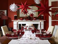 Inspiring Christmas Dining Table Decorations