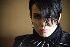 """Noomi Rapace as Lisbeth Salander in Män som hatar kvinnor (The Girl with the Dragon Tattoo) - """"I've never done this before. Ola Rapace, Noomi Rapace, Robert Downey Jr, Lisbeth Salander, Werner Herzog, Millenium, Stieg Larsson, Strong Female Characters, Female Heroines"""