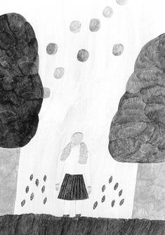 イラストレーター | 秋山花 | Hana Akiyama | Magazine Hana, Surrealism, Art Art, Illustrator, Cool Art, Sketches, Tapestry, Paintings, Dreams