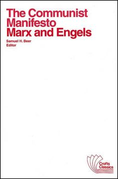 an analysis of the communist manifesto by karl marx and friedrich engels The communist manifesto analysis literary devices in the communist manifesto symbolism, imagery, allegory setting the communist manifesto was published in 1848 marx claims his analysis of class struggle explained all hitherto existing society according to friedrich engels, karl marx.