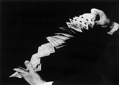 Fanning the Cards by Harold Edgerton