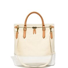 The Canvas Zip Tote by Madewell