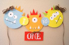 Monster Bash High Chair Banner by kyankedesigns on Etsy, $9.00