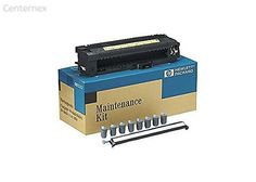C9152A maintenance kit For LaserJet 9050dn - Centernex update. Consumables Included Included Qty: 1 Type: Fuser Included Qty: 7 Type: Feed separation roller Included Qty: 2 Type: Pickup roller Type: Transfer roller Header Brand: HP Compatibility: PC Manufacturer: Hewlett-Packard Packaged Quantity: 1 Product Line: HP Consumable Color: Black Consumable Type: Maintenance kit Duty Cycle: 350000 pages Printing Technology: Laser Voltage: 110 V. Maintenance kit 110 V. Free Shipping.