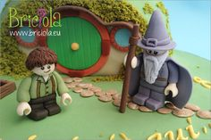 LEGO cake The Lord of the Ring - Briciola
