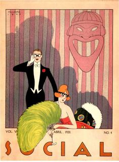 Social vol V nr. Makeup Illustration, Art Deco Illustration, Fashion Illustration Vintage, Illustrations, Vintage Cuba, Vintage Art, Magazin Covers, Art Deco Fashion, The Borrowers