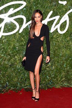 Pin for Later: Les Stars Se Sont Mises Sur Leur 31 Pour Les British Fashion Awards Joan Smalls en Tom Ford
