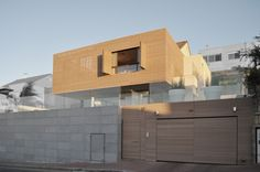 Y project Israel - Wood, cast concrete and steel plinth #architecture #design