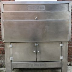 Stainless Steel Built-in 1200 Braai - The Braai Man Built In Braai, Cooking On The Grill, Welding Projects, Make Design, Cooking Utensils, Kirchen, State Art, Other Accessories, Stuff To Do