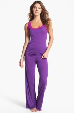 Natori 'Feathers Essentials' Tank Pajamas available at Nordstrom