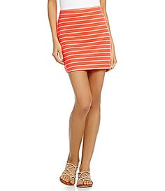 Gianni Bini Staci Striped Skirt #Dillards