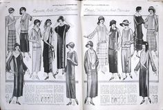 1920's Flapper Fashion - McCall's 1924 by Good Golly, Miss Mollie, via Flickr