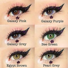 "New Products Show-Thanks to @ayo_coralie #galaxypink#galaxypurple#galaxygrey#beegreen#egyptbrown#pearlgrey Use Code""ttdpin"" Get 10% OFF !! Don't miss it!!!#coloredlenses#coloredcontacts#contactsonline#eyecontact#ordercontactsonline#cheapcontactlenses#ttdeye#beautifulmakeup#eyemakeup#makeuptrend"