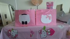 Dear Daniel and hello Kitty favor bags @ Cassy's bdp