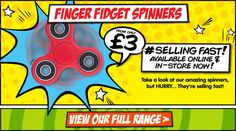 Finger Fidget Spinne