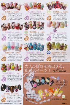 Photos of trendy Japanese manicure - part 2   kabasia.com