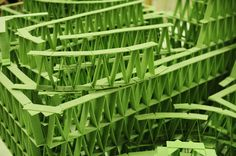 chewing gum structures by jeremy laffon