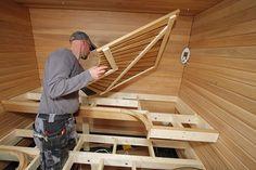 Modern Saunas, Sauna Design, Outdoor Sauna, Garden Shower, Sauna Room, Maine House, Dream Rooms, Bath, Construction
