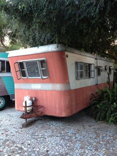 1955 Silver Dome travel-trailer...Re-pin...Take care of your investment and look up #houseofinsurance #eugeneoregon