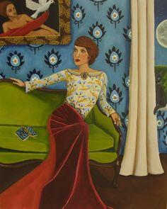 Historias contadas Nueva Pintura Original pintura original del artista Catalina Nolin | DailyPainters.com