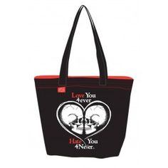 Pirates Reversible Tote Blk/Red
