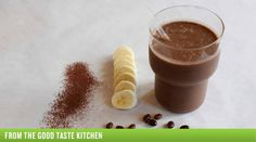 Cocoa-Bean Smoothie // interesting but sounds good!
