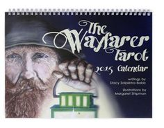 2015 Wayfarer Tarot Calendar  - $25.00 - Handmade Art, Crafts and Unique Gifts by Iris X Readings, Lotions and Other Potions #giftideas #thecraftstar #uniquegifts