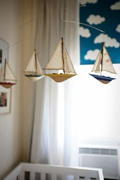 when I have a baby boy ... sailboat theme ~ lindsay loves