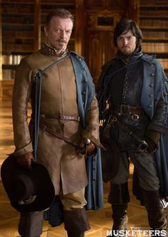 The Musketeers(BBC): Captain Treville and Athos