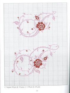 Gallery.ru / Фото #24 - Belles lettres au point de croix - logopedd